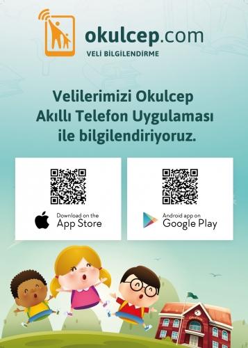 Veli bilgilendirme uygulamamız OkulCep ile tanışın.