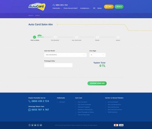 Autocard Web Sitesi