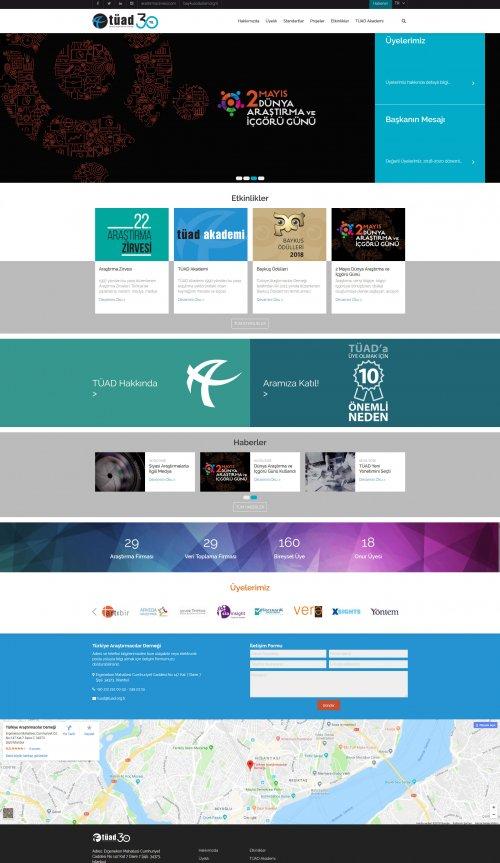 TÜAD Web Sitesi